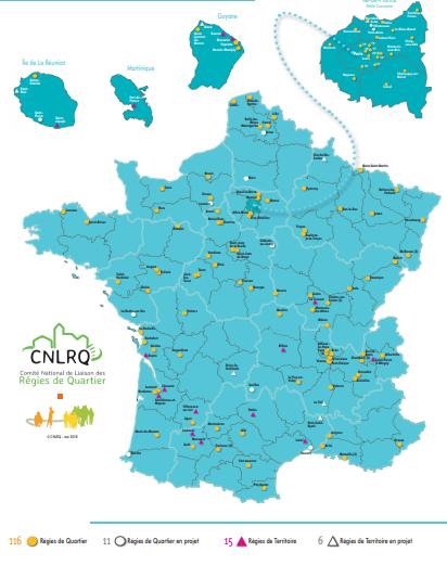 carte des régies